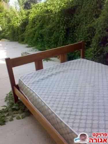 מיטה זוגית+מזרן