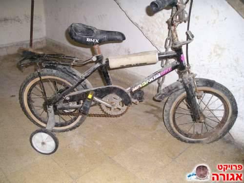 אופניים עם גלגלי עזר