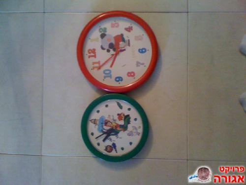 שעונים לחדר ילדים