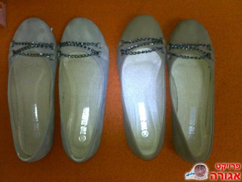נעליים חדשות מידה 36