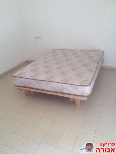 מיטה זוגית + מזרון 140X190