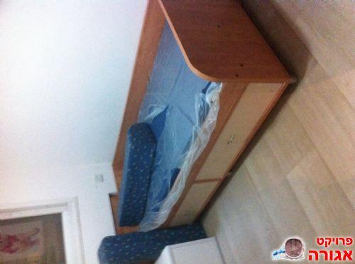 מיטת יחיד עם 2 מגירות כולל מזרן