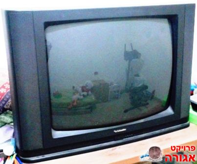 """טלויזיה """"24 צבעונית -Schneider"""