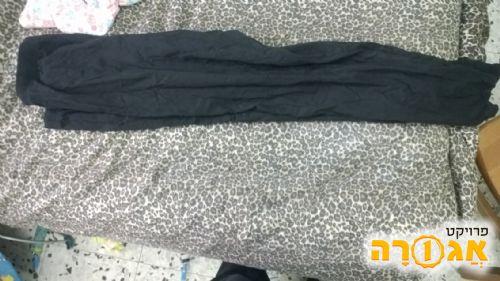 מכנס שחור דק לנשים XL