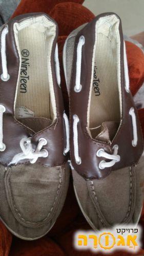נעלי ילד בן מידה 34