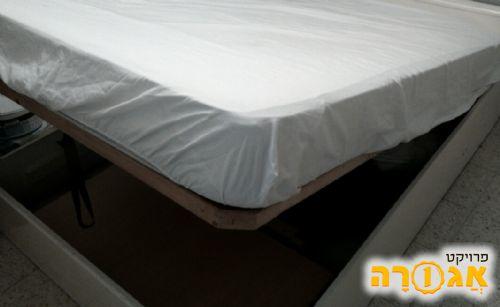 מיטה זוגית+ארגז מצעים