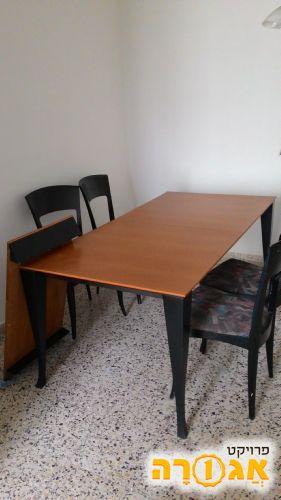 שולחן אוכל + הארכה