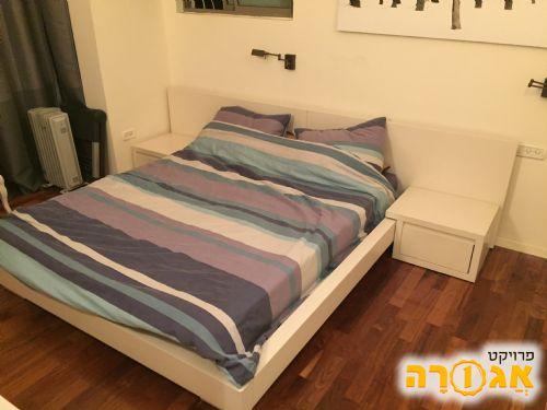 מיטה ומזרון זוגי 200* 160