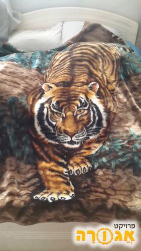 שמיכה עם נמר