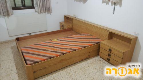 מיטה זוגית לחד שינה