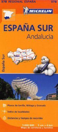 מפה של אנדלוסיה