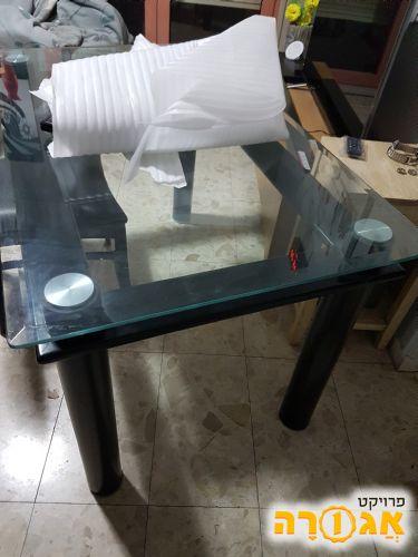 שולחן זכוכית פינת אוכל