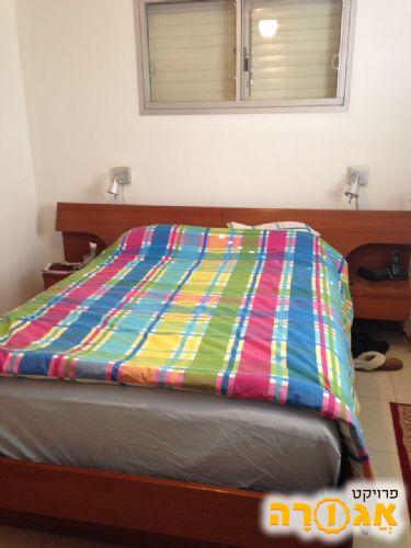 מיטה זוגית + מזרון