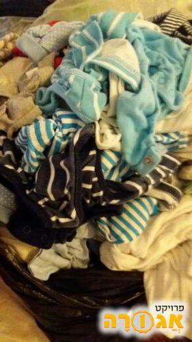בגדים לתינוק (בן בעיקר) 0-3
