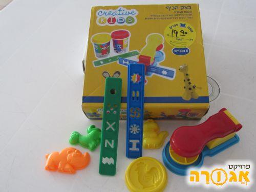 משחק קופסה - בצק