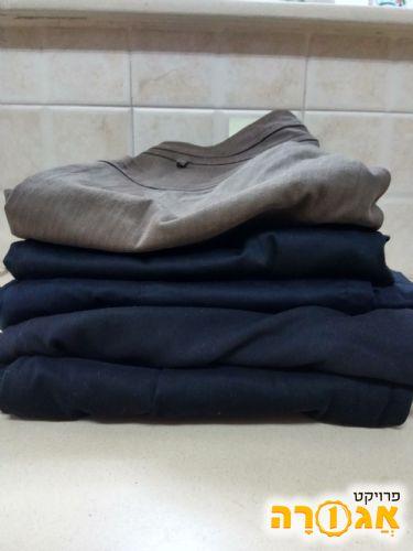 5 זוגות מכנסי נשים מותגים