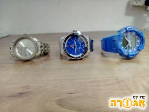 3 שעונים לגבר
