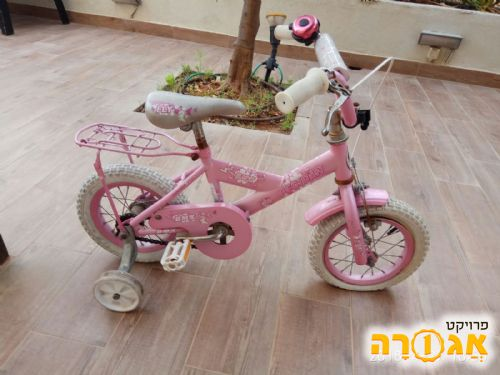 אופני בנות עד גיל 4