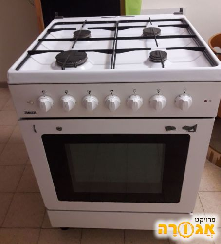 תנור משולב כיריים גז