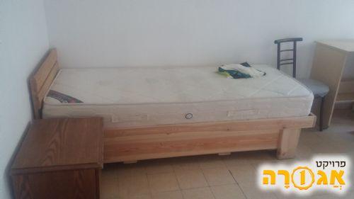 מיטת יחיד+מזרן
