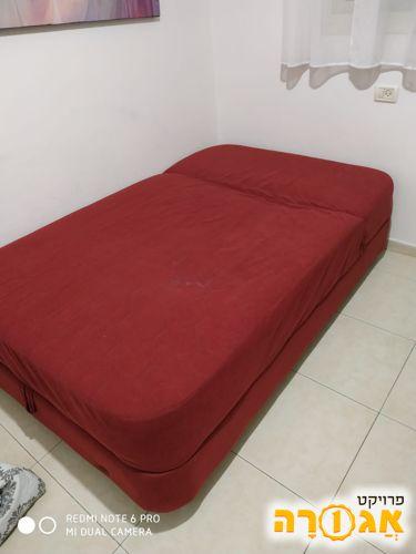 מיטה וחצי עם ארגז 1