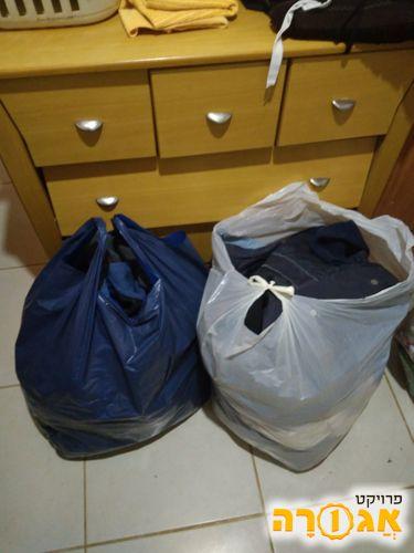 שקית בגדים
