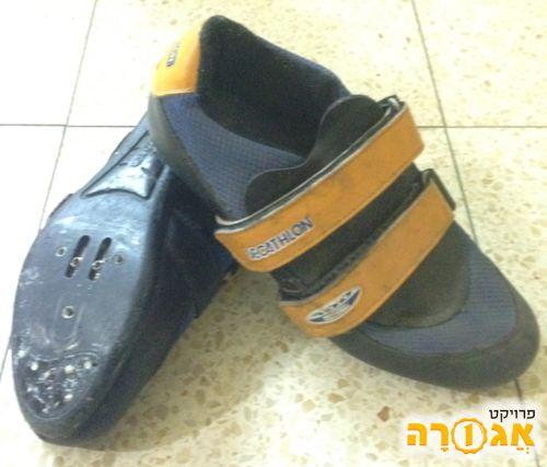נעלי רכיבת אופנים מידה 39
