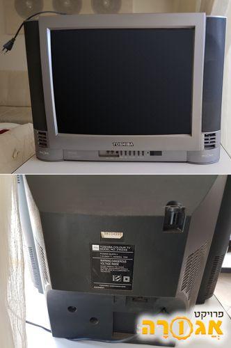 טלוויזיה TOSHIBA מסך מרובע (4:3) - תקינה