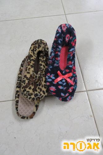 נעלי בית לבנות/נשים