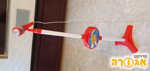מיקרופון קריוקי עם רמקול לילדים