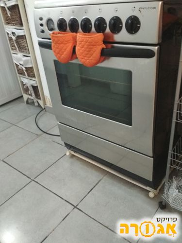 תנור משולב עם כיריים