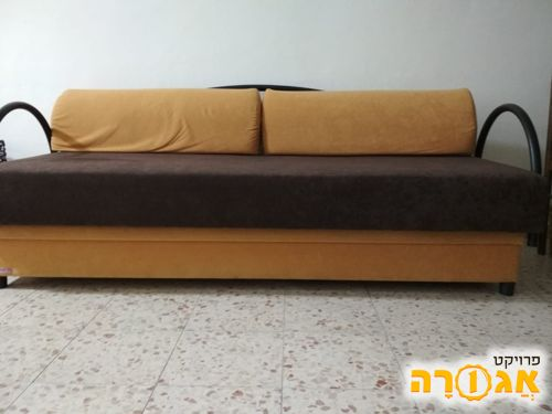 מיטת נוער עם אחסון