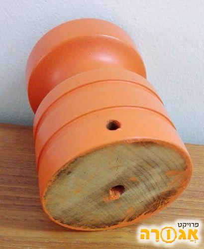 בסיס מעץ מלא ליצירת מנורת לילה