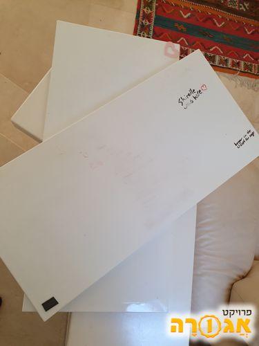 2 לוחות מגנטים לבנים איקאה
