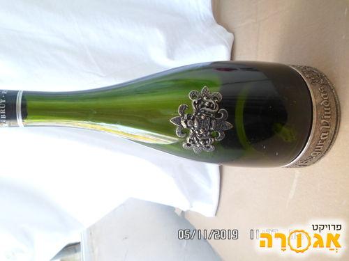 בקבוק CAVA מקושט (ריק)