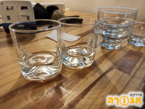 זוג כוסות ויסקי מעוצבות (מגניבות)