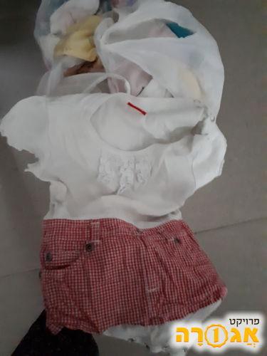 בגדים לתינוקות מ0 עד6