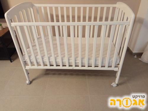 מיטת תינוק כולל מזרן