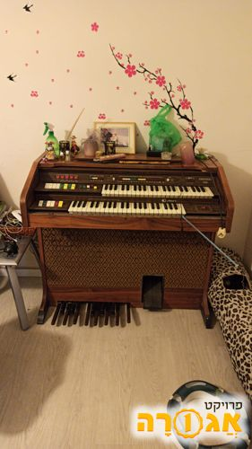 פסנתר\אורגנית כפולה ישן