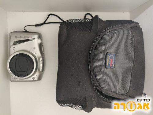 מצלמה של canon, כולל כבל ותיק