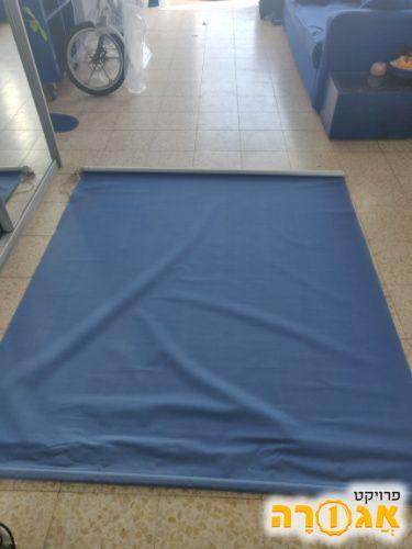 2 וילונות גלילה כחולים. 180 אורך ,160 רו