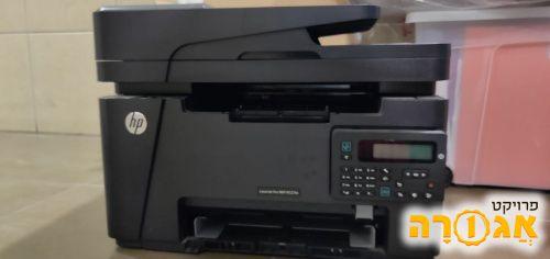 מדפסת HP במצב מעולה שחור לבן לייזר
