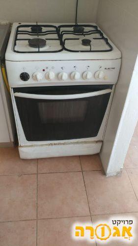 תנור אפיה משולב כיריים גז