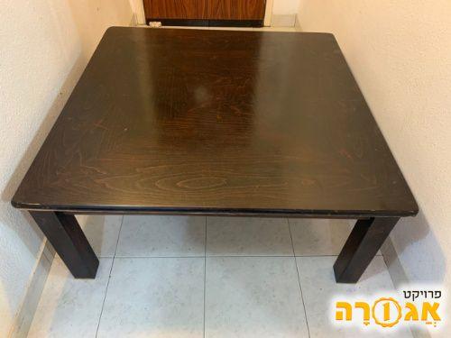 שולחן לסלון/פינת ישיבה מעץ מלא