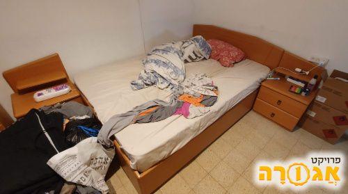 בסיס מיטה ללא מזרון
