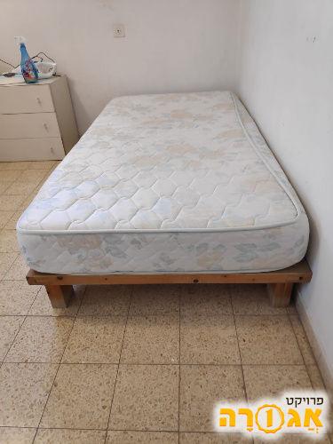 בסיס מיטה + מזרן