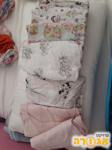 סדינים לילדה - מיטת מעבר או מיטת תינוקת