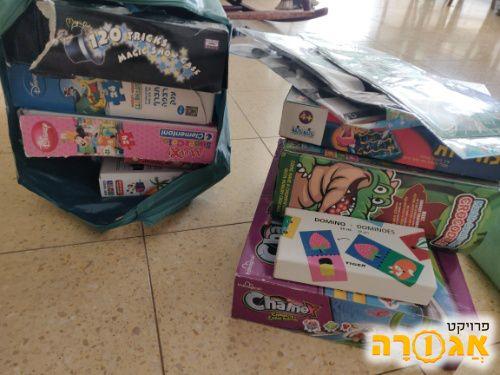 משחקי קופסה ופאזלים לילדים