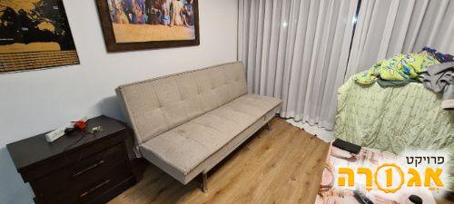 ספה נפתחת למיטה 180 * 120