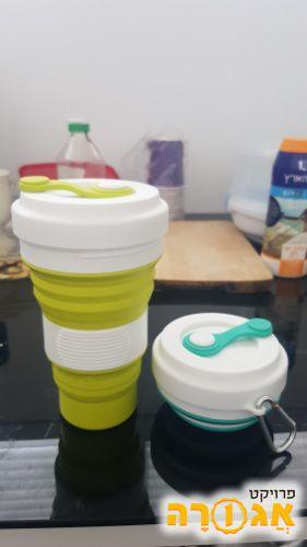 כוסות מתקפלות